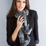 Самий модний шарф зими 2011