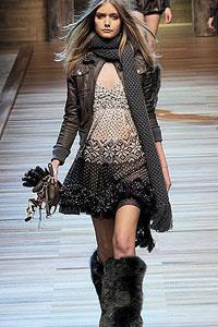 Самий модний шарф зими 2011 - 2