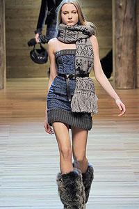Самий модний шарф зими 2011 - 3