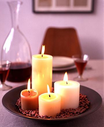 Красиві свічки і свічники до свята