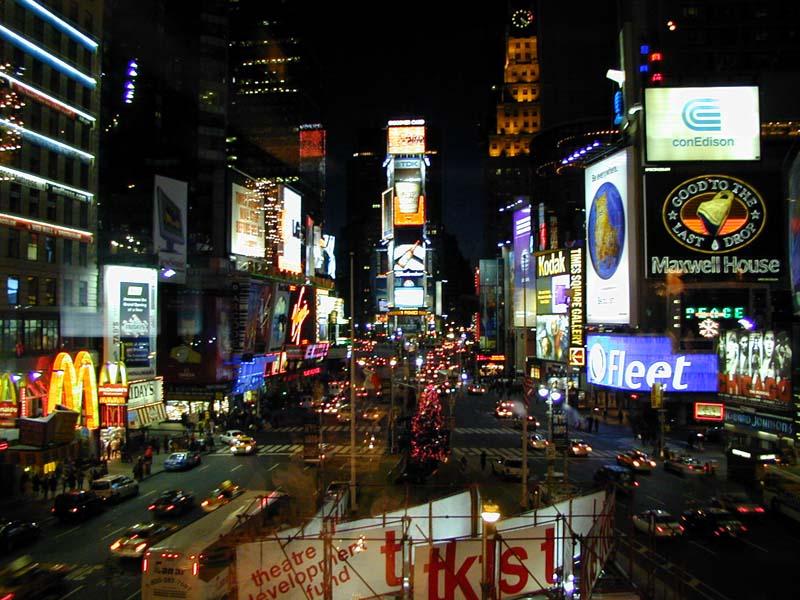 Таймс-Сквер в Нью-Йорці