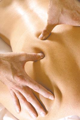 Техніка точкового масажу