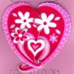 Валентинки з тканини