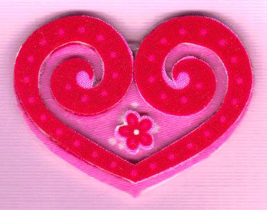 Валентинки з тканини 4
