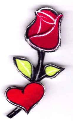 Валентинки з тканини 5