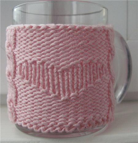 В'язаний светр для чашки - 24