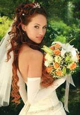 Весільна зачіска 2012