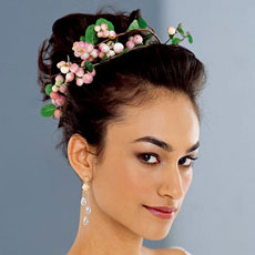 Весільна зачіска 2012 - 13