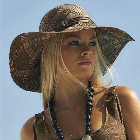 Модний літній капелюх - 16