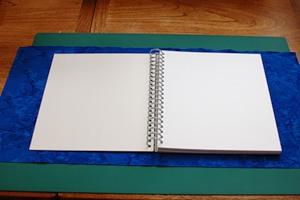 Обкладинка для записної книжки з тканини - 2