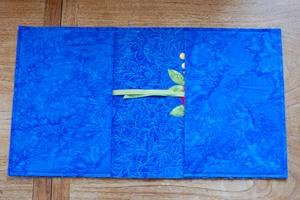 Обкладинка для записної книжки з тканини - 6