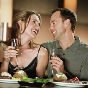 Романтична вечеря в ресторані
