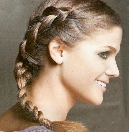 Зачіски з косичками