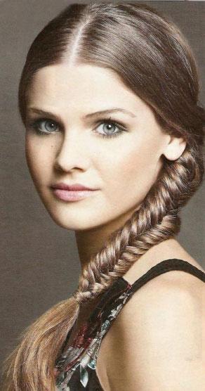 Зачіска - Плетений колосок