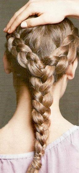 Зачіска - Витончене тріо