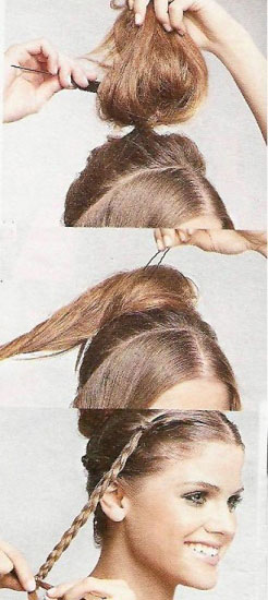 Зачіска - Грецька богиня