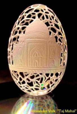 Різьба по яєчній шкаралупі