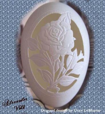 Різьба по яєчній шкаралупі - 3