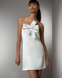 Коротка весільна сукня