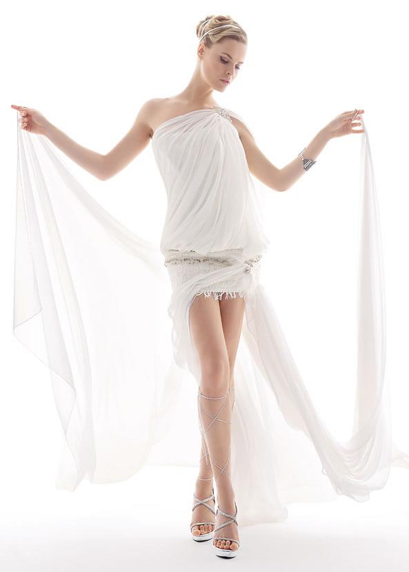 Весільна коротка сукня