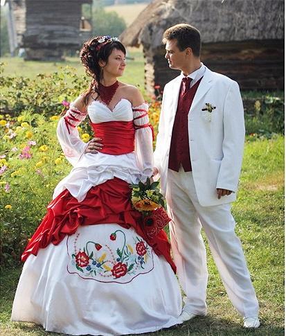 Етнічні весільні сукні - фото 9