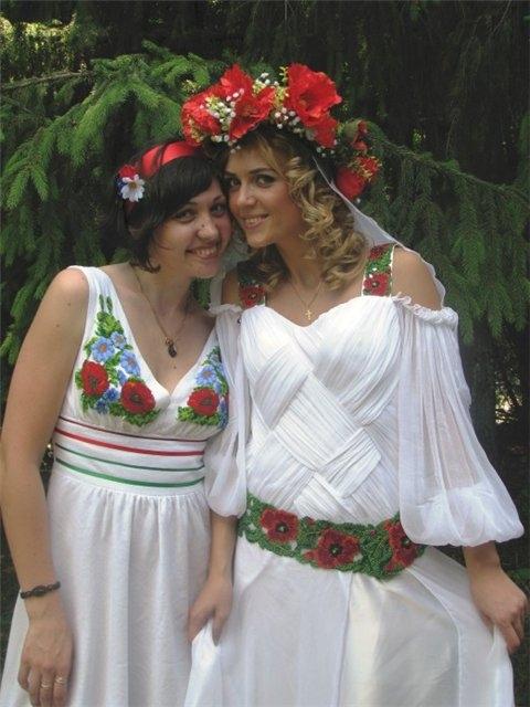 Етнічні весільні сукні - фото 10