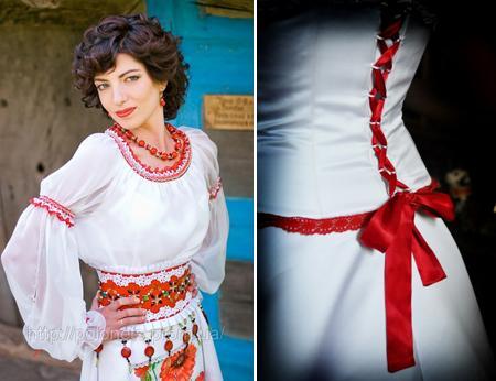 Етнічні весільні сукні - фото 12