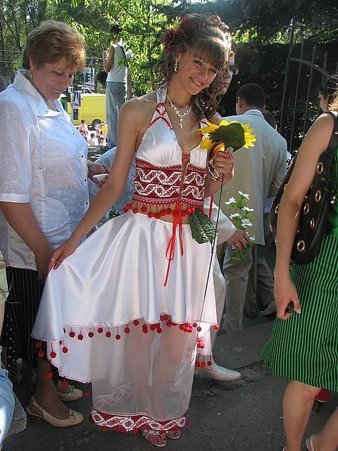 Етнічні весільні сукні - фото 13