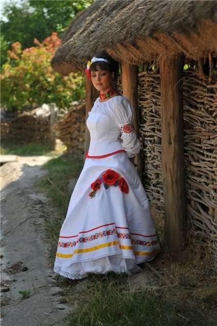 Етнічні весільні сукні - фото 14