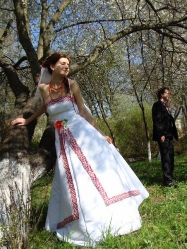 Етнічні весільні сукні - фото 17