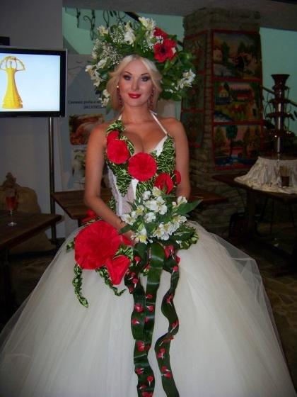 Етнічні весільні сукні - фото 18