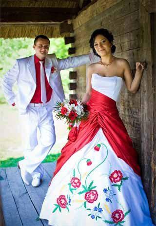 Етнічні весільні сукні - фото 20