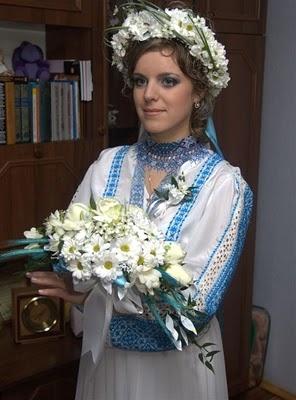 Етнічні весільні сукні - фото 21