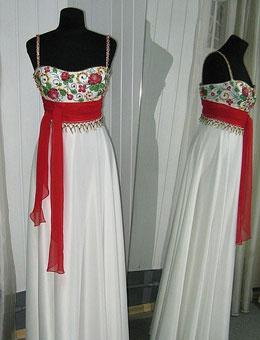 Етнічні весільні сукні - фото 22