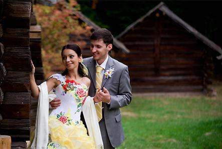 Етнічні весільні сукні - фото 23