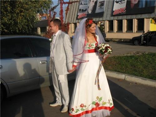 Етнічні весільні сукні - фото 24