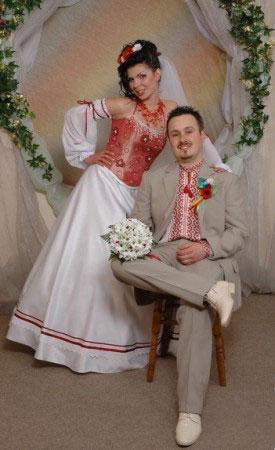 Етнічні весільні сукні - фото 25