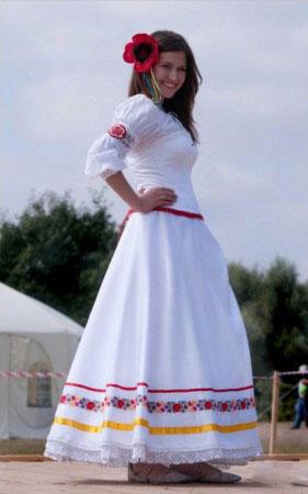 Етнічні весільні сукні - фото 28