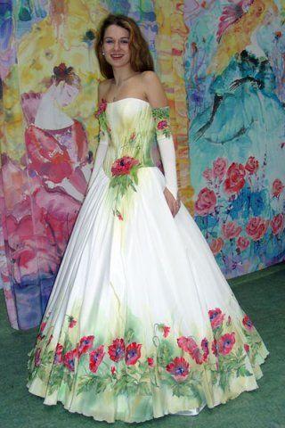 Етнічні весільні сукні - фото 29