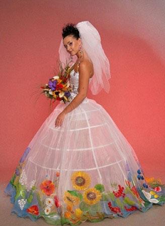 Етнічні весільні сукні - фото 5