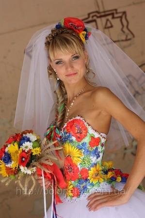 Етнічні весільні сукні - фото 6