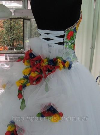 Етнічні весільні сукні - фото 7