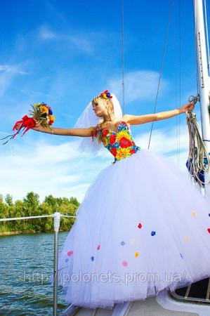 Етнічні весільні сукні - фото 8