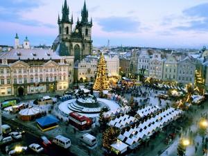 місто Прага в Чехії