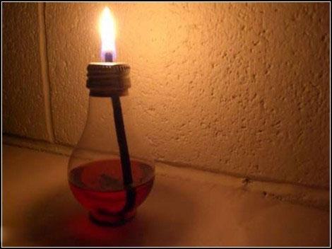 Декор з лампочок - 15