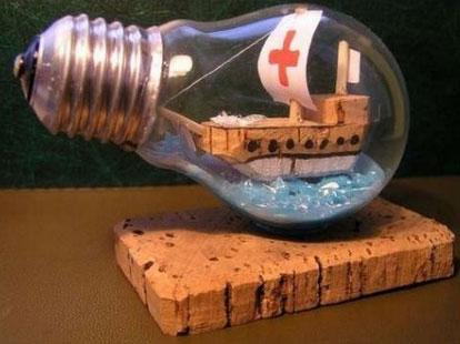 Декор з лампочок - 17