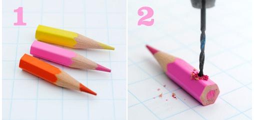 Прикраси з олівців