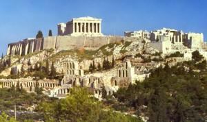 Афінський Акрополь в Греції