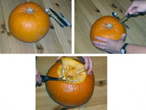 Як зробити гарбуз на Хеллоуін