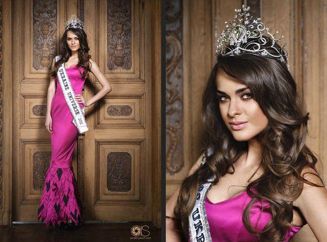 Перша Віце-Міс Всесвіт 2011 - українка!